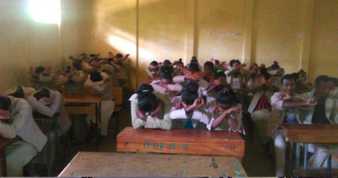 #OromoProtests continues in Shambuu prepatory school, Horroo Guduruu, Wallaggaa, West, Oromia, March 2016.