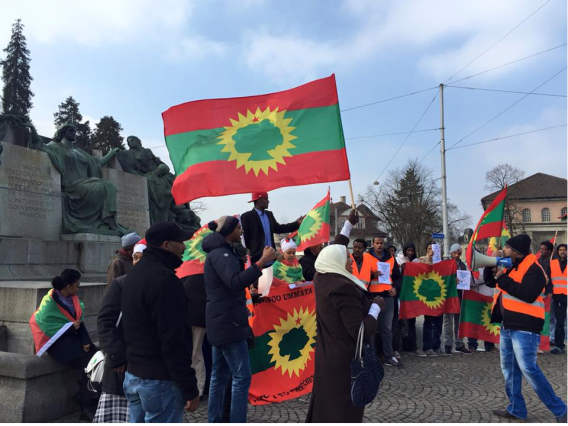 #Oromoprotests global solidarity at Swiss Parliament, 11 March 2016.png