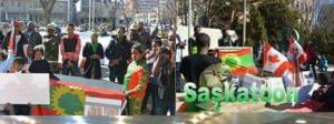 #OromoProtests Global solidarity rally in Saskatoon, Canada, 11 March 2016.