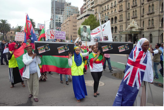 #OromoProtests global solidarity rally organised by the Australian Oromo community in Melbourne, 10 March 2016 p3.png