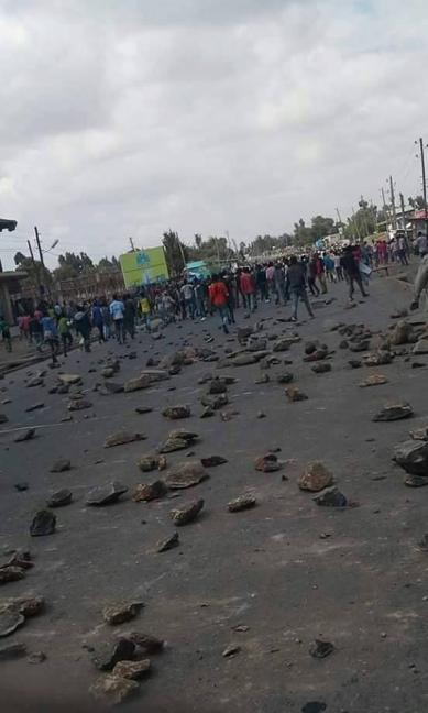 #OromoProtests in Adaabbaa, Arsi, Oromia, March 2016
