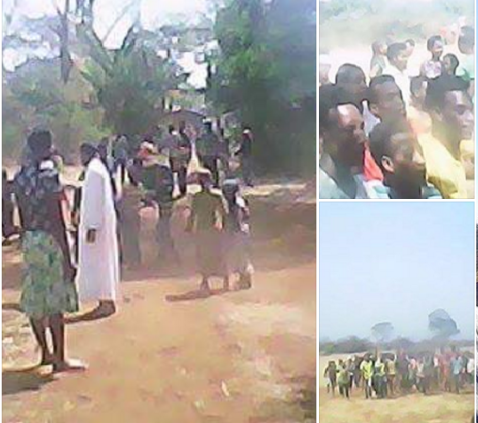 #OromoProtests in Mana Sibuu, Bengu'aa village, 1st March 2016