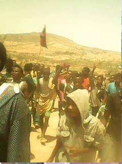 #OromoProtests (1st March 2016) in Awaallee, East Hararghe, Oromia