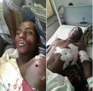 #OromoProtests (1st March 2016) in Qarsaa town. Oromo nationals Muraadii and Kadir Siraj Ahmed killed by Agazi