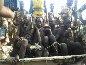 Suruma people of the Omo Valley are being tortured by fascist Ethiopia (Agazi) foreces because they protested their land being taken for Sugar plantation