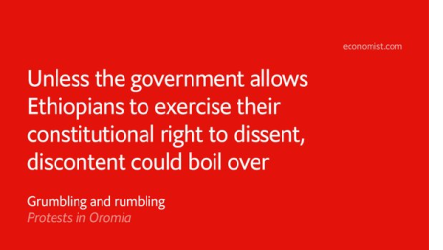 The Economist on #OromoProtests