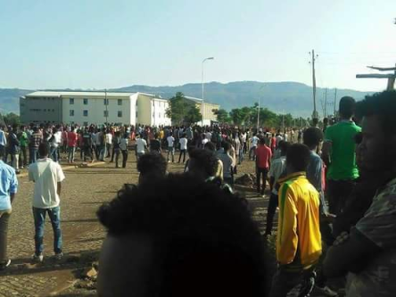 #OromoProtests at Awaro Campus, Ambo, Oromia, 11 and April 2016 p2