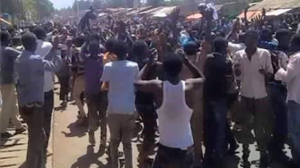 #OromoProtests in BIshoftu, 1st April 2016