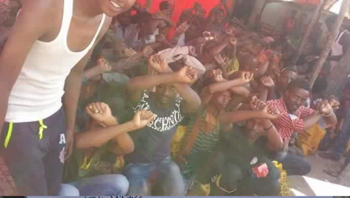 #OromoProtests in Bosaso, 7 April 2016