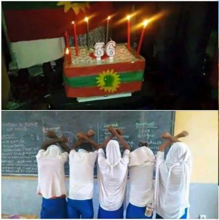 #OromoProtests,Dirre dhawaatti barattoonni mana barumsaa Laga Harree Ebla 15 kan Bara 2016 haala itti yaadatan