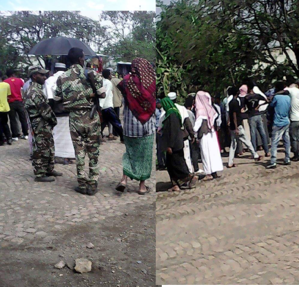 #OromProtests in Baatee, Walloo, Northern Oromia, 10 March 2016