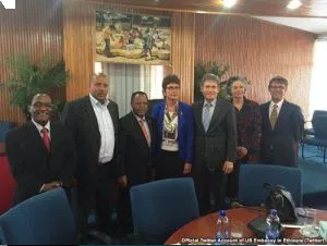 with whom they meet to discuss the marginalization of Oromo people