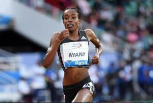 Oromo athlete Almaz Ayana wins  IAAF DIAMOND LEAGUE in meeting in Rabat, 22nd May 2016