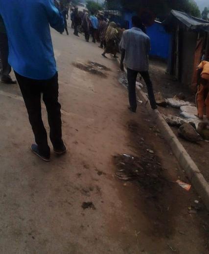 #OromoProtests, Hirnaa, Eastern Oromia, 8 May 2016