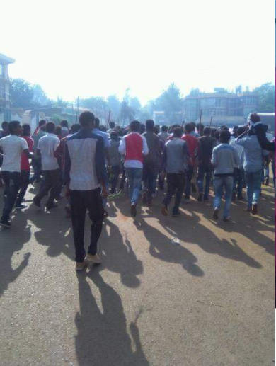 #OromoProtests, Jimmaa, 15 May 2016