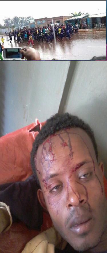 #OromoProtests, Kombolcha, Horroo Guduruu, 24 May 2016
