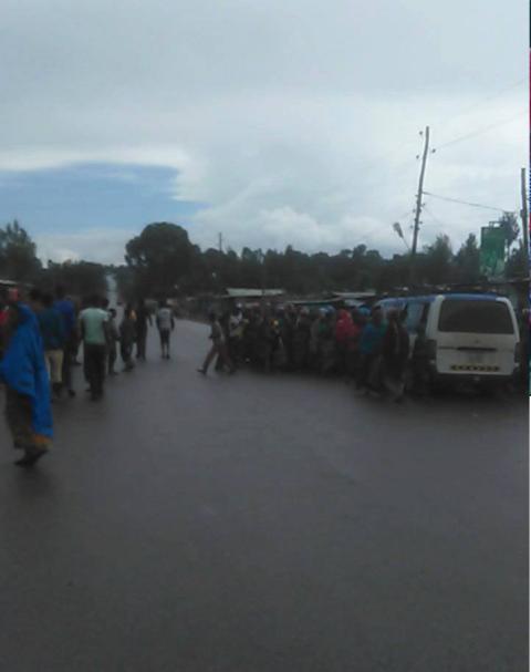 #OromoProtests, Qarsaa, Hararghe, Oromia, 10 May 2016