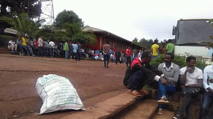 #OromoProtests, Students of Business and Economics College in Asella, May 12, 2016