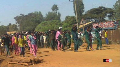 Qobboo town, East Hararghe, Oromia, 27 May 2016