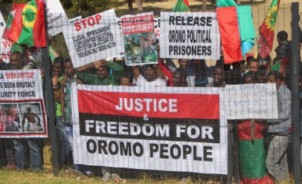 Freedom for Oromo People, #OromoProtests