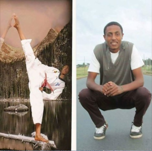 Haarun Hajji, Oromo youth murdered by fascist TPLF forces on 17 June 2016.