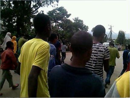 #Oromo Protests, Qobboo town, Dadar, Hararghe, Oromia, 20 June 2016 p1
