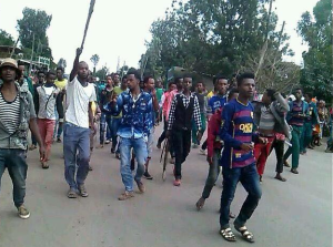 #Oromo Protests, Qobboo town, Dadar, Hararghe, Oromia, 20 June 2016 p2