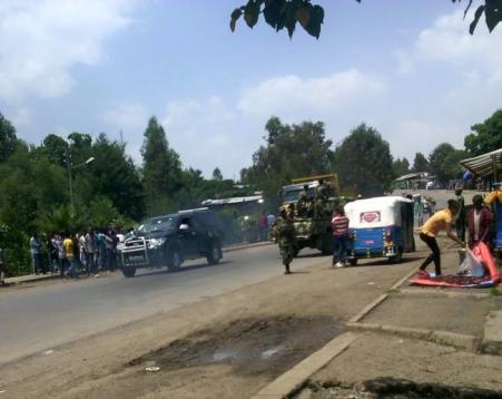 #OromoProtests, Gincii, Oromia, 9 June 2016
