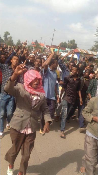 #OromoProtests in Asaasaa, Arsi, Oromia, 25 June 2016 p2