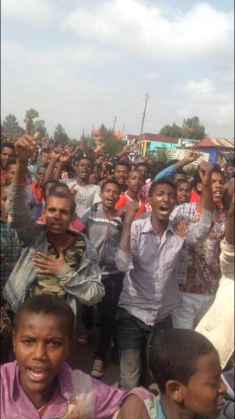 #OromoProtests in Asaasaa, Arsi, Oromia, 25 June 2016