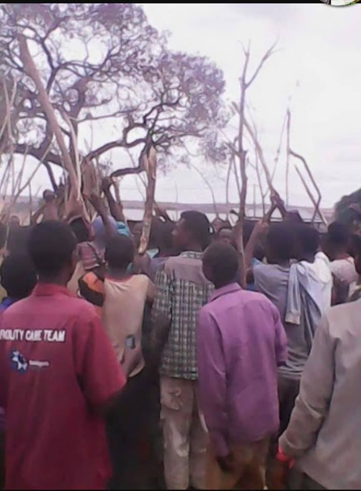 #OromoProtests in Asabot town, Hararghe, Oromia, June 4, 2016