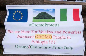 #OromoProtests solidarity rally in Brusells, Beligium, 3 June 2016 p4