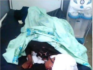 Body of Rihaanaa Ahmad, Kombolcha College student, Oromia, shot and killed by fascist Ethiopia's regime force on 25 July 2016