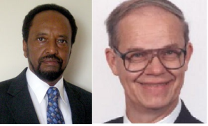 Dr. Asafa Jalata and Dr. Harwood Schaffer
