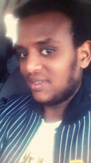 Oromo youth Muaz Abdulhamid, killed by fascist Ethiopia's regime in Awaday, 31 July 2016.
