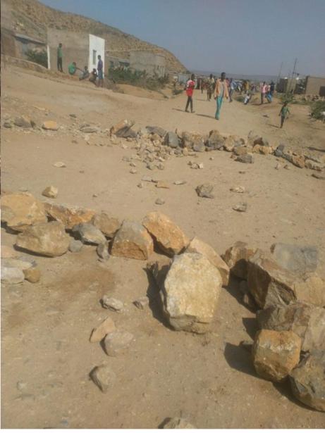 #OromoProtests 25 July 2016, Dirree Dhawa, Eastern Oromia.