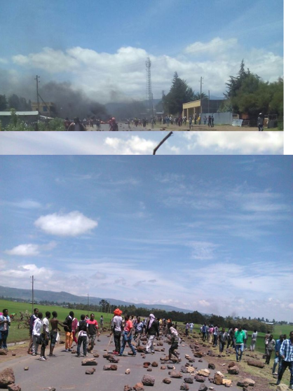 #OromoProtests 26 July 2016 in Qacama Caree, Dodola, Arsi, Oromia. p2