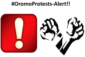 #OromoProtests Alerts, Oromia, 16 July 2016