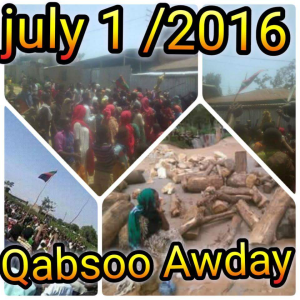 OromoProtests, Awaday, Oromia, 1 July 2016