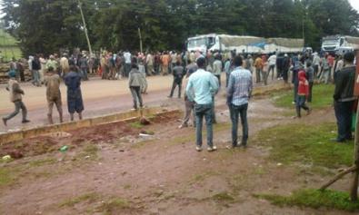 #OromoProtests in Arsi, Xiyyoo, Oromia, 12 July 2016.