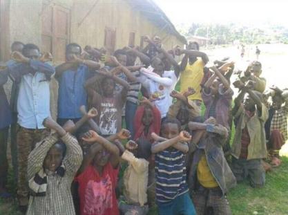 #OromoProtests, in Gurawa, Dooguu, Gaara mul'ataa, Hararghe, Oromia, 17 July 2016.