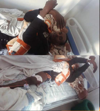 #OromoProtests, Jamal Kadir was wounded in Tijo-Waqantera town 31 July 2016