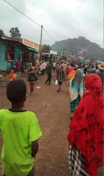 #OromoProtests, Masalaa, hararghe, Oromia, 27 July 2016.