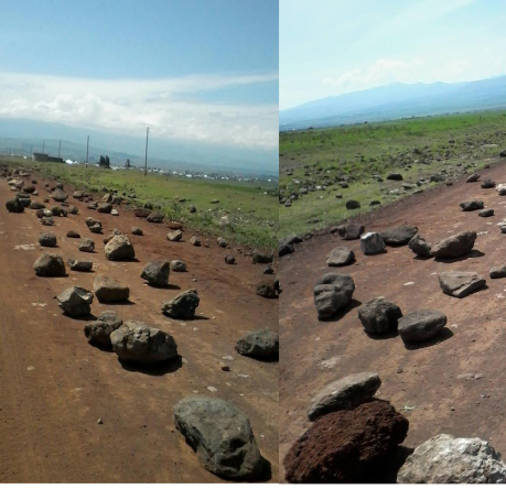 #OromoProtests on 26 July 2016, the road from Robe Gerjeda town to Bokoji and Hasasa has been closed, Arsi, Oromia..png