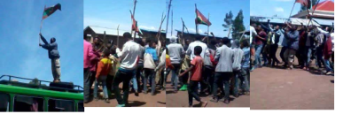 #OromoProtests, Raising the Resistance Flag Robe-Gerjeda, Arsi July 26, 2016