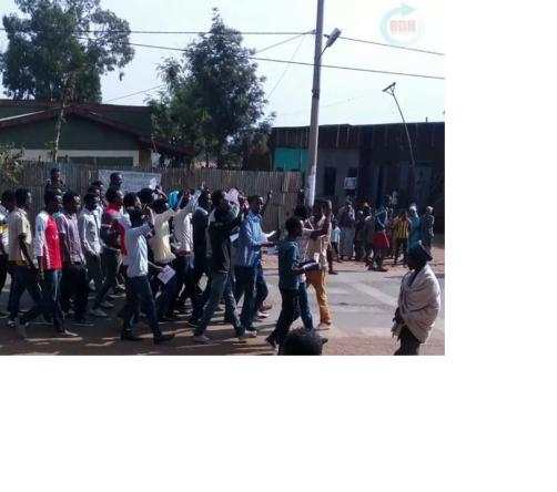 #OromoProtests, taltallee, Boranaa, Oromia, 21 July 2016