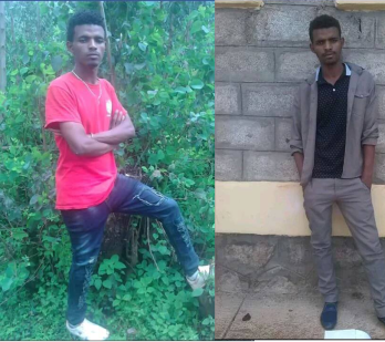 Tekalign Chalchisa the 11th grade bright oromo student who was killed by fascist Ethiopia's regime forces in Ijaji town, West Shewa, Oromia, July 20, 2016