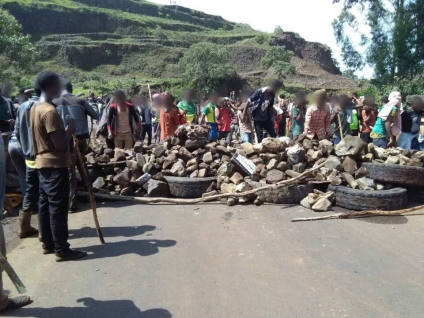 #Amhara Protests in Gojjam, 28 August 2016 and also they are in solidarity with #OromoProtests