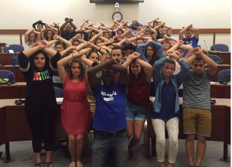 Columbia University students in USA in solidarity with #OromoProtests calling Congress to act now for Oromo people justice