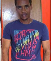 Darajee Birbirsaa, Oromo national, civil engineering graduate kidnapped on 19 August 2016 and his whereabout is unknown